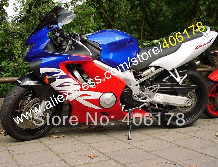 Hot vendas, moto cbr 600 f4 carenagem para honda cbr600f4 1999 2000 99 00 carenagens de multi-cor + free presentes (moldagem por injeção)