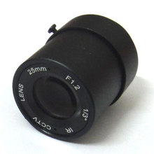 1/3″ 25mm CCTV Lens view 70m 11 degrees F1.2 IR Fixed Iris CS Mount for Security CCD Camera