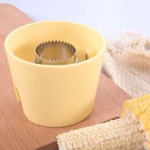 Кукуруза початка Овощечистка резак разделитель Съемник молотилка для кухни приспособление для салата кухонная утварь для овощей Кухонные аксессуары