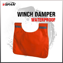 New Winch Damper 4WD Winch Cable Cushion Recovery Damper Safety Blanket 4x4 Car Off-Road Rescue Winching Pulling Towing Dampener stable electric winch motor winch recovery cable pull motor winch load capacity 200 400kg car auto lift winch accessory