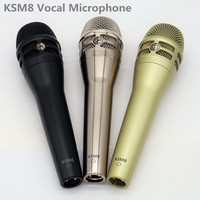 Finlemho Professional Microphone Dyanmic Karaoke Recording Studio Vocal KSM8 For Guitar Amplifier Drum Kit Instrument Mixer