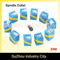 ER8 Spindle Motor Collet Chuck 5 Pcs Collets Size From 3 Mm To 5 Mm Full