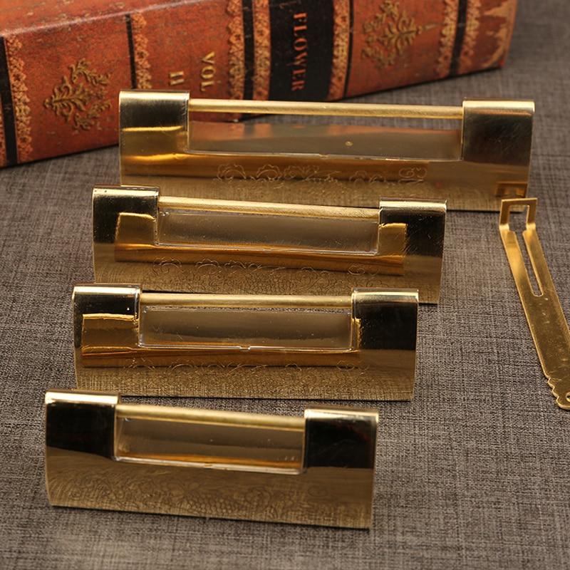 Large European antique copper latch lock furniture door cabinet lock hardware fittings padlock цена