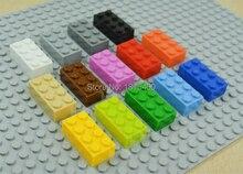 Diy Kinderen Speelgoed Plastic Assembleren Bouwstenen Baksteen Compatibel Met Legoes Leren Onderwijs Jongens Meisjes Speelgoed 1500 Stks/partij
