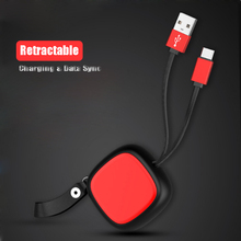 100pcs Retractable  Phone Cable for iph X 8 7 6S Plus 5S Data Sync USB Charging Android typr-C Micro cable