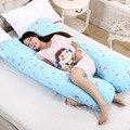 2016 Novo Conforto Gravidez Maternidade Travesseiro Em Forma de U Travesseiro de Corpo Total