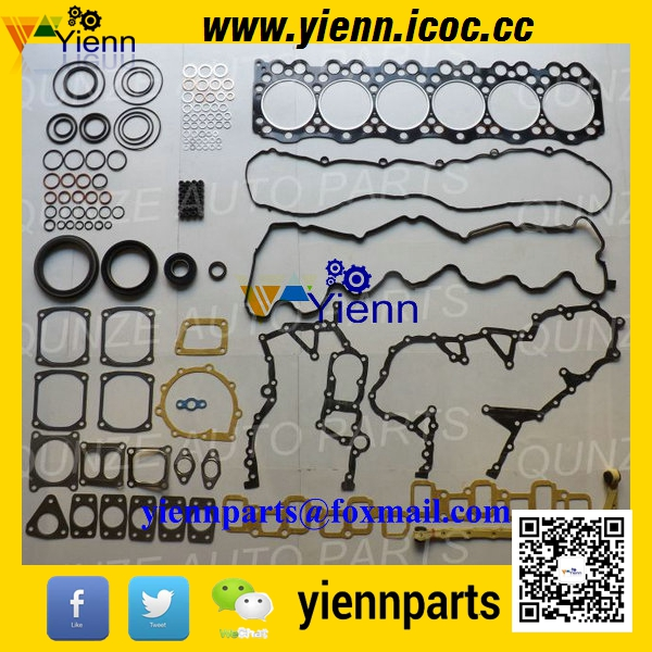 US $276 0 |HINO P11C P11CT M10C M10U full gasket kit include head gasket  and valve seals for HINO Truck diesel engine parts on Aliexpress com |