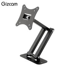 Gizcam black Articulating Adjustable Swivel Tilt LED LCD TV Wall Mount Brackets 10