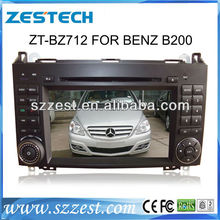 ZESTECH touch screen Benz B200 Car DVD with GPS, RDS, bluetooth, FM, TV, canbus, steerwheel control functions