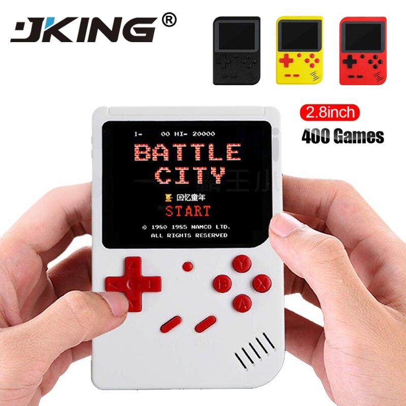 8 Pouco Retro Mini Bolso Handheld Video Game Console Game Player Embutido 400 Jogos Clássicos Melhor Presente para Criança Nostálgico jogador