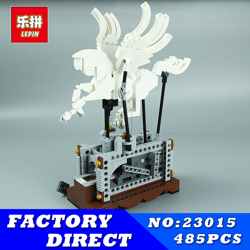 LEPIN 23015 485Pcs Technic Series The Pegasus Automaton Mechanical Flying Horse Building Blocks Bricks Pegasus Toys for Children lepin 20076 technic series the mack big