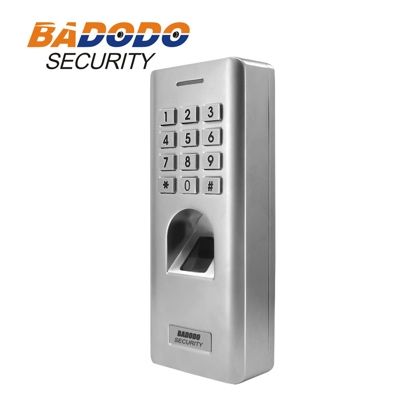 Image 2 - IP66 Outdoor WG26 Fingerprint password keypad access control reader for security door lock system gate opener use-in Fingerprint Recognition Device from Security & Protection