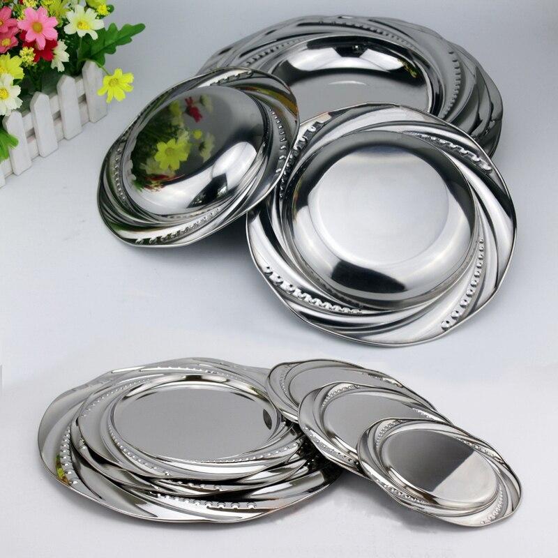 Nėriniai veidrodiniai indai Nerūdijančio plieno indų valgiai - Virtuvė, valgomasis ir baras - Nuotrauka 2