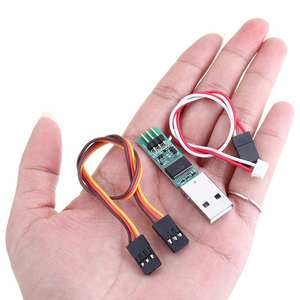 Image 2 - USB Adapter HS 3P to 4P Servo Cable for Kyosho Mini Z RC Parts Transmitter Upgrade Mini z ICS Settings