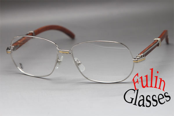 new unisew 569 wood eyeglasses larger 18k gold glasses frame size 61 15 135mm in eyewear frames from mens clothing accessories on aliexpresscom