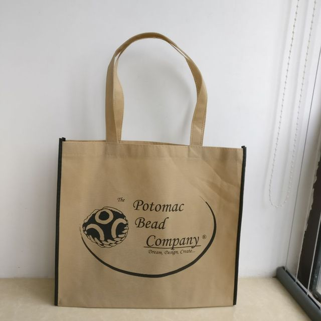 89e4a6e241 2018 wholesale 500pcs lot custom printing company logo recycling reusable  non woven gift shopping bags promotion bags for ads