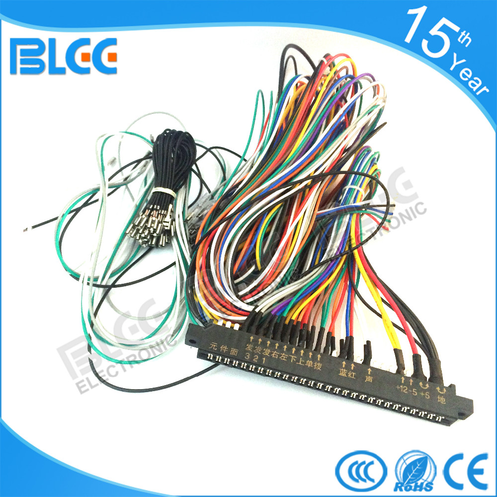 Jamma Pinout Icade Wiring Harness Below Is The Basic Diagram For You Can Use This As Reference When