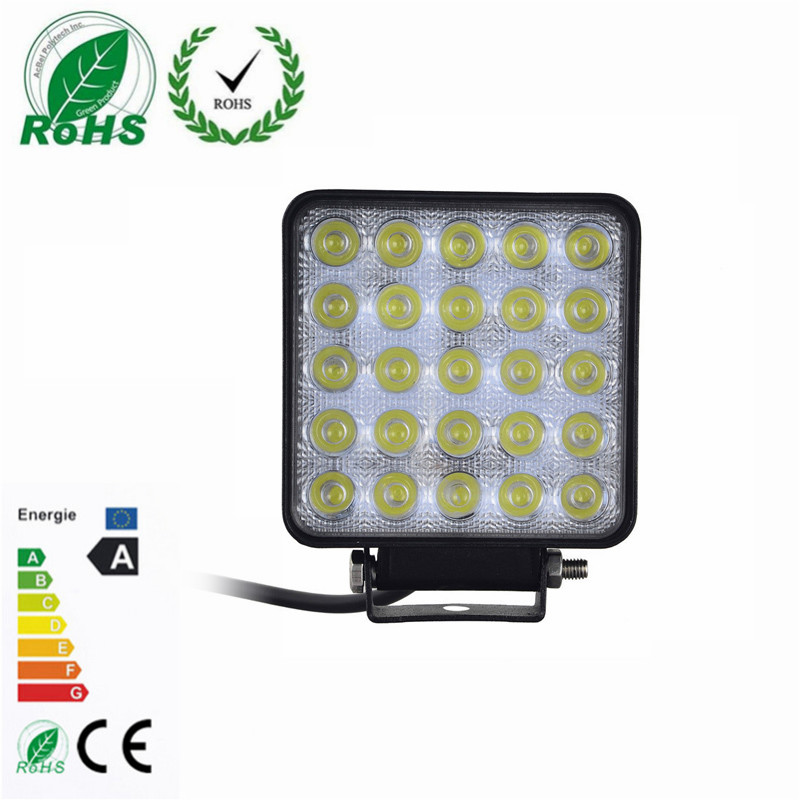 1Pcs 75W LED Work Light for Indicators Motorcycle Driving Offroad Boat Car Tractor Truck 4x4 for SUV ATV Flood 12V 24V tripcraft 12000lm car light 120w led work light bar for tractor boat offroad 4wd 4x4 truck suv atv spot flood combo beam 12v 24v