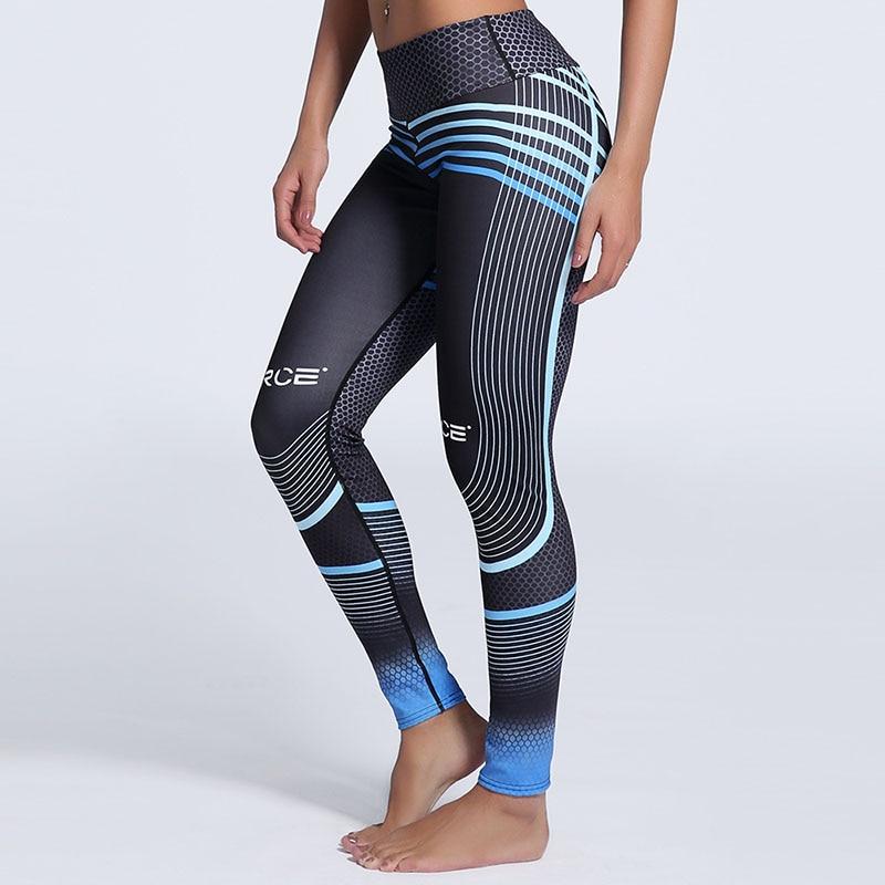 Damskie legginsy Gothic 3D cyfrowe drukowane spodnie do ćwiczeń - Ubrania Damskie