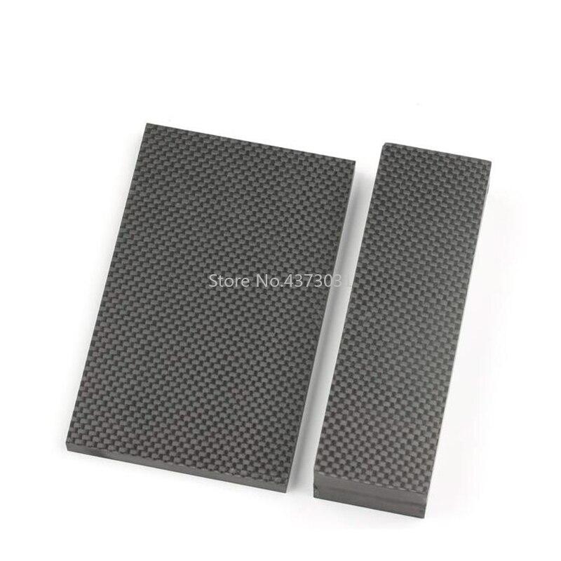 1 Stuk Carbon Fiber Plaat Voor Diy Handvat Materiaal Carbon Fiber Board Edc Diy Mes Schacht Patch Materiaal Geschikt Voor Mannen, Vrouwen En Kinderen