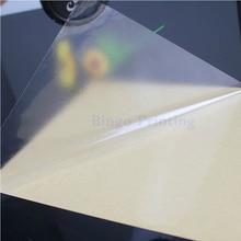 100 листов А4 ПВХ Наклейка Виниловая наклейка прозрачная наклейка для лазерного принтера ламинированная пленка сильный клей