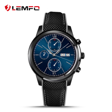 Lemfo LEM5 GPS heart rate monitor Smartwatch phone Android 5.1 MTK6580 1GB / 8GB smart watch support SIM card gps mp3