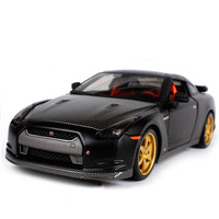 New 1:24 Scale Nissan GTR 2009 GT R R35 Carbon fiber Charger Metal Diecast Model Racing Sport Auto Car For Boys Toys Gift