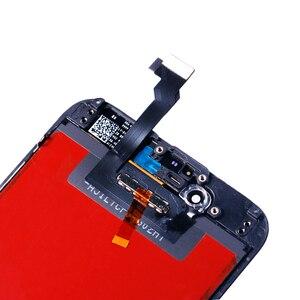 Image 4 - AAA + + + איכות עבור iPhone 5 5S 6 6s 7 LCD תצוגת מסך מגע עבור 4 4S 8 בתוספת SE 100% חדש לגמרי LCD Digitizer מזג + מתנות