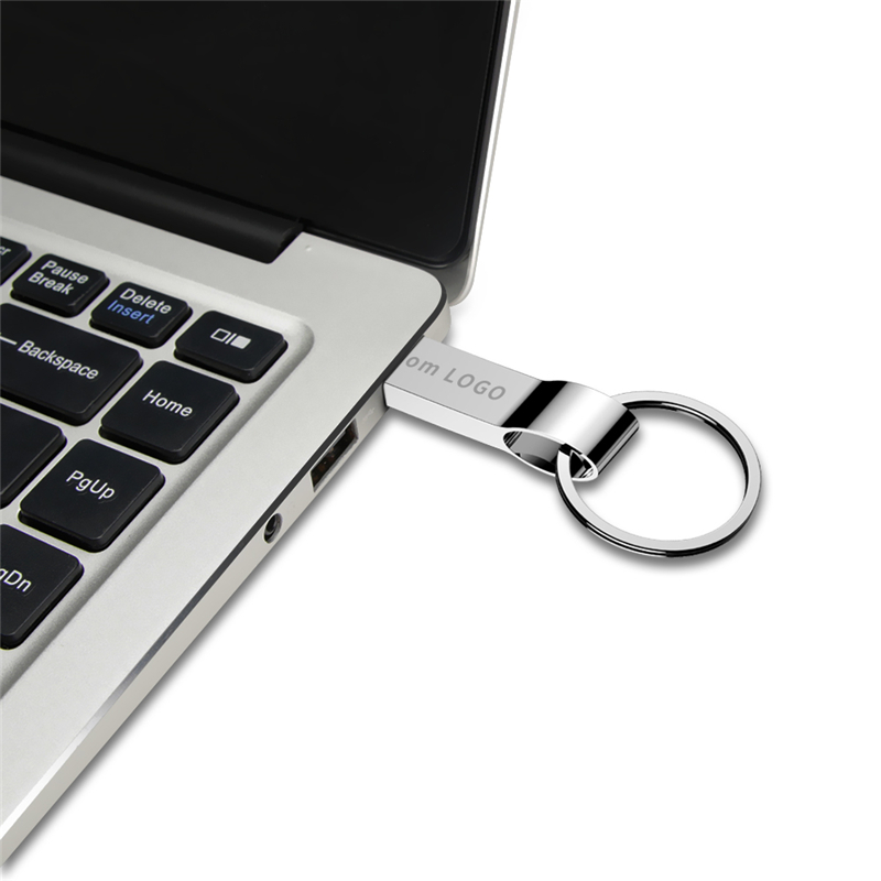 Image 4 - Pen Drive 32GB Metal Usb Flash Drive Bracelet 64GB 16GB 8GB 4GB Pendrive 128GB USB 3.0 Silver High Quality U Disk Free Shipping-in USB Flash Drives from Computer & Office