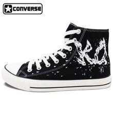 KO Muay Thai Original Design Converse All Star Unisex Men Women Shoes Custom Hand Painted Canvas Sneakers Birthday Gifts