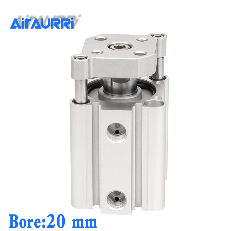 smc type air cylinder CQMB bore 20mm stroke 5/10/15/20/25/30/35/40/45/50mm Double Acting compact pneumatic rod guide cylindersmc type air cylinder CQMB bore 20mm stroke 5/10/15/20/25/30/35/40/45/50mm Double Acting compact pneumatic rod guide cylinder