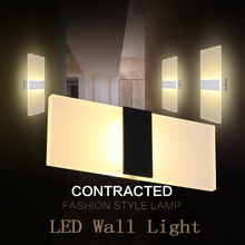 LAIMAIK Modern Led Wall Lamp AC110V/120V Sconce LED Acrylic 3W 6W 9W 12W Mounted Wandlamp Bathroom