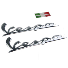 Freeshipping KODASKIN decal sticker emblem 3D for PIAGGIO VERPA