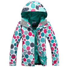 New High quality winter clothes Women's ski suit outdoor sports skiing jacket women warm thick waterproof coat