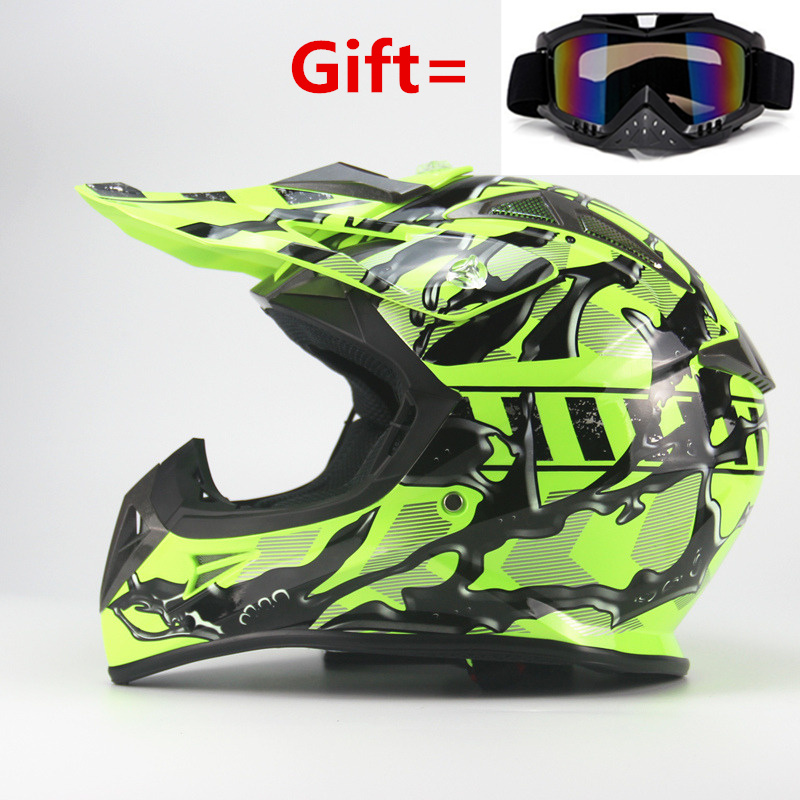 2017 Marca ATV Motocicleta Motocross Casco hors route Moto Casco Capacete Cruz Kask Casque de course Cascos ATV engins de course