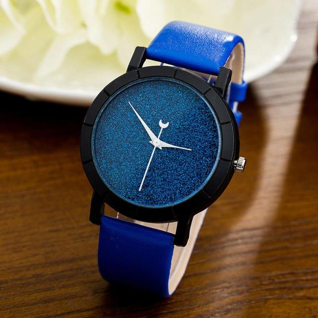 Minimalist Women's Glitter Fashion Watches