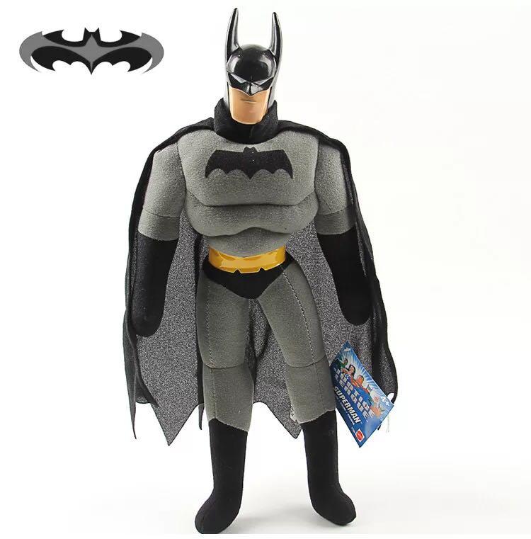 Figura de Ação Vingadores Brinquedos quente 25 centímetros Spiderman Batman Superman Ironman Hulk Capitão América Thor da Marvel Em ESTOQUE Presente de Natal