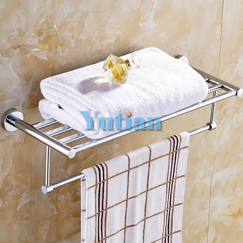 бесплатная доставка, держатель для полотенец, латунь вешалка для полотенец, 60 см круглый вешалка для полотенец, ыть-4006