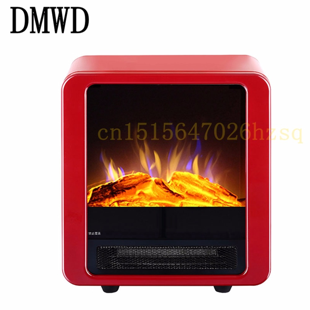 DMWD electric-fireplace Home Office Bathroom Vertical Heater simulate fireplace fashion overheat protection chimeneas electricas napoleon 72 in electric fireplace insert with glass