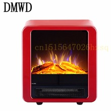 DMWD electric-fireplace Home Office Bathroom Vertical Heater simulate fireplace fashion overheat protection chimeneas electricas
