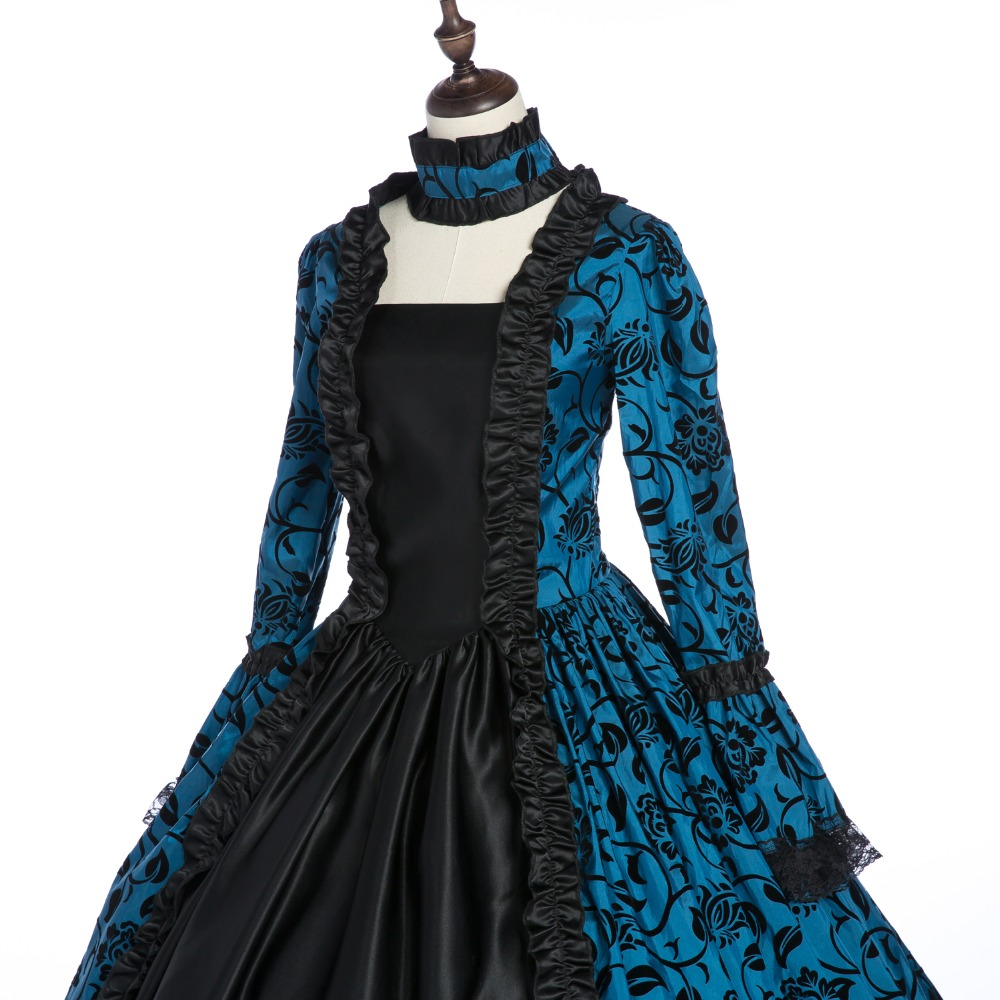 victorian party dress