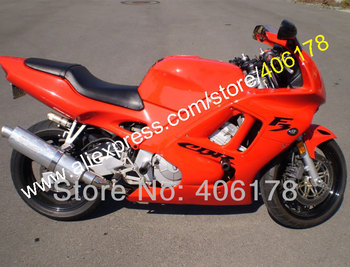 Fairings kits for CBR600F3 1997 1998 CBR600 F3 CBR 600F3 600 F3 97 98 Orange fairing kit (Injection molding)