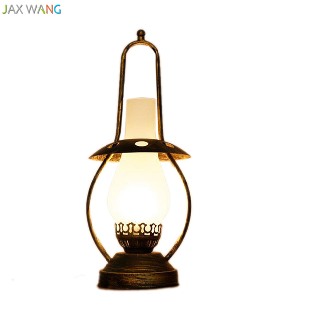 JW Southeast Asian Country Retro Table Lights Kerosene Desk L& for Living Room Bedroom Cafe Home  sc 1 st  AliExpress.com & JW Southeast Asian Country Retro Table Lights Kerosene Desk Lamp for ...