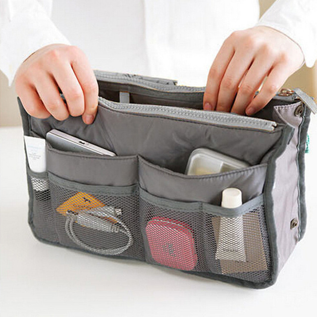 Woman Cosmetic Makeup Bags Organizer Storage Bag