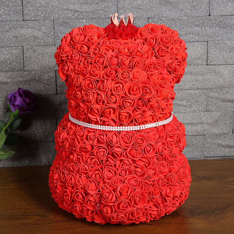 bear rose artificial flower (21)