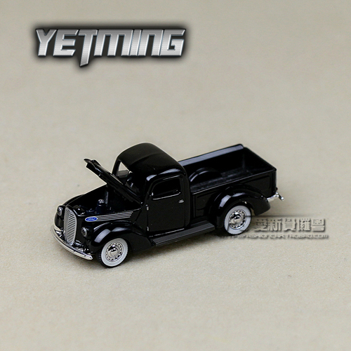 Metal alloy car model Boxed yiming FORD pick up 1938 classic Picard's alloy car models toy gift for children  christmas