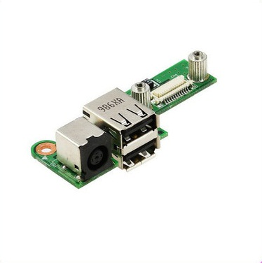 все цены на WZSM Original DC Power Jack USB Board For Dell Inspiron 1525 1526 PP29L онлайн