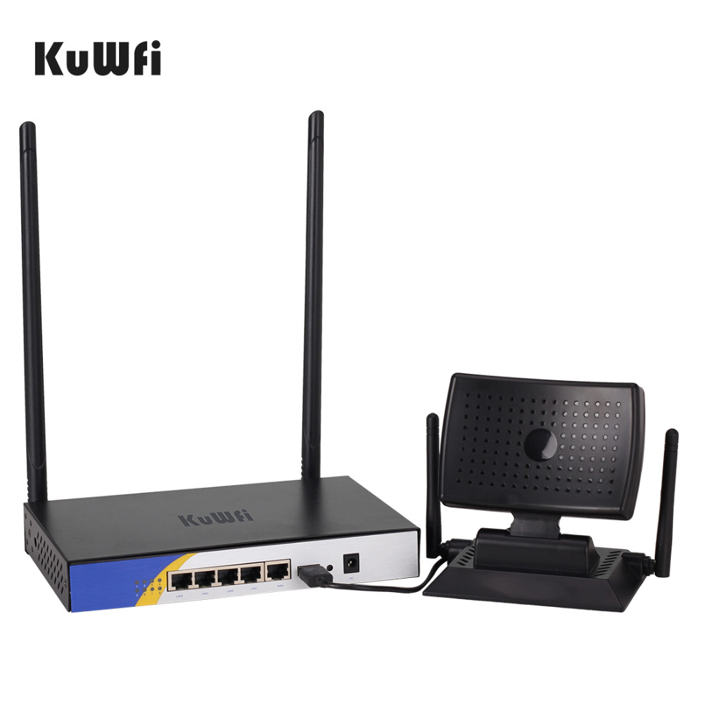 One Set for Wifi Signal Booster High Power 300Mbps Wireless Router Bundle With 150Mbps Wireless USB Wifi Receiver