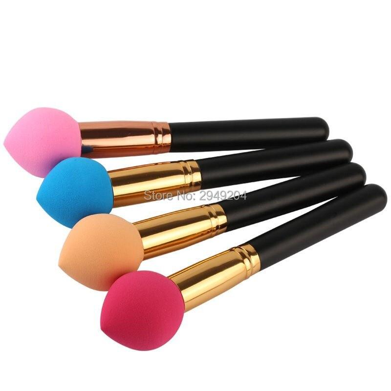 Promoção Maquiagem Fundação Esponja Esponjas Esponjas Para make-up Cosméticos Maquiagem Pincéis de maquiagem