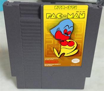 PAC-MAN Game card 72pin 8 bit Game cartridge Drop shipping!
